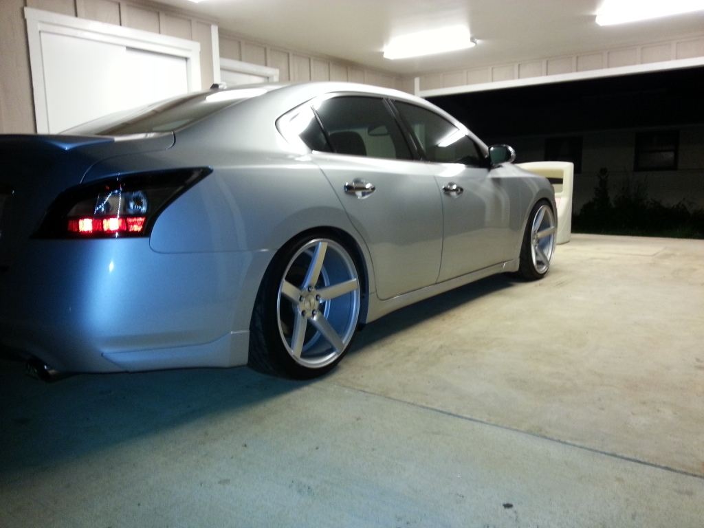 photo 1 Nissan Maxima custom wheels Vossen CV-3 20x10.5, ET , tire size / R20. x ET