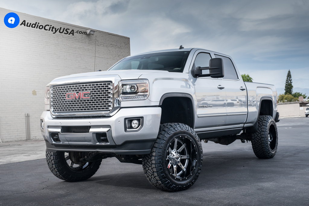 photo 3 GMC Sierra 2500HD custom wheels Fuel D260 22x12.0, ET , tire size 315/60 R22. x ET