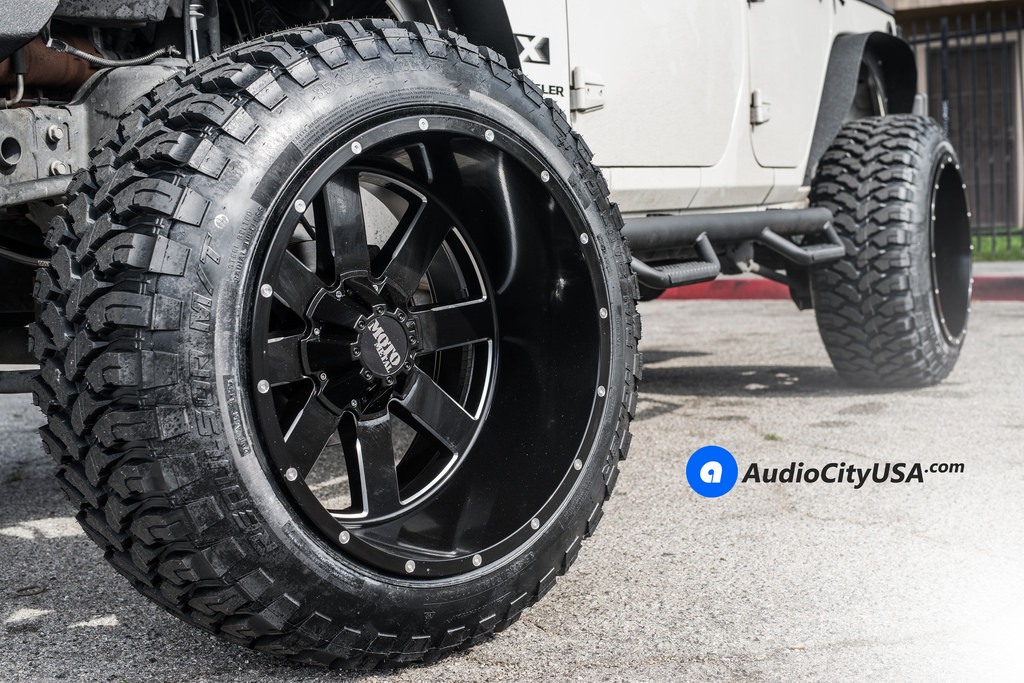 photo 4 Jeep Wrangler custom wheels Moto Metal 962 22x14.0, ET , tire size 315/50 R22. x ET