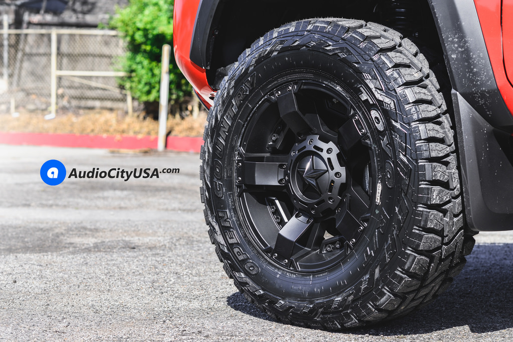 photo 1 Toyota Tacoma custom wheels XD 811 18x9.0, ET , tire size 285/65 R18. x ET