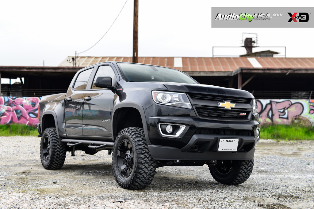 Lifted Chevy Colorado >> Chevrolet Colorado custom wheels XD 811 Rockstar 2 18x9.0, ET , tire size 315/60 R18. x ET
