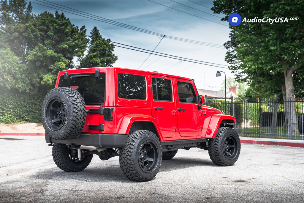 photo 2 Jeep Wrangler custom wheels XD 827 20x12.0, ET , tire size 315/60 R20. x ET