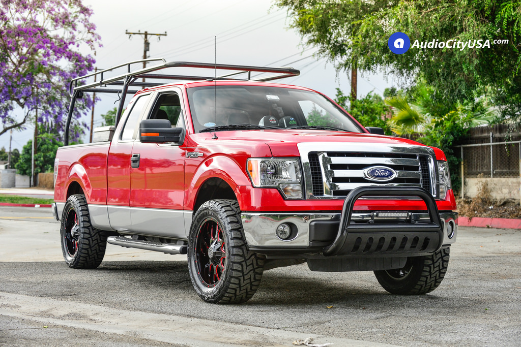 photo 3 Ford F-150 custom wheels Scorpion SC-19 20x9.0, ET , tire size 315/50 R20. x ET