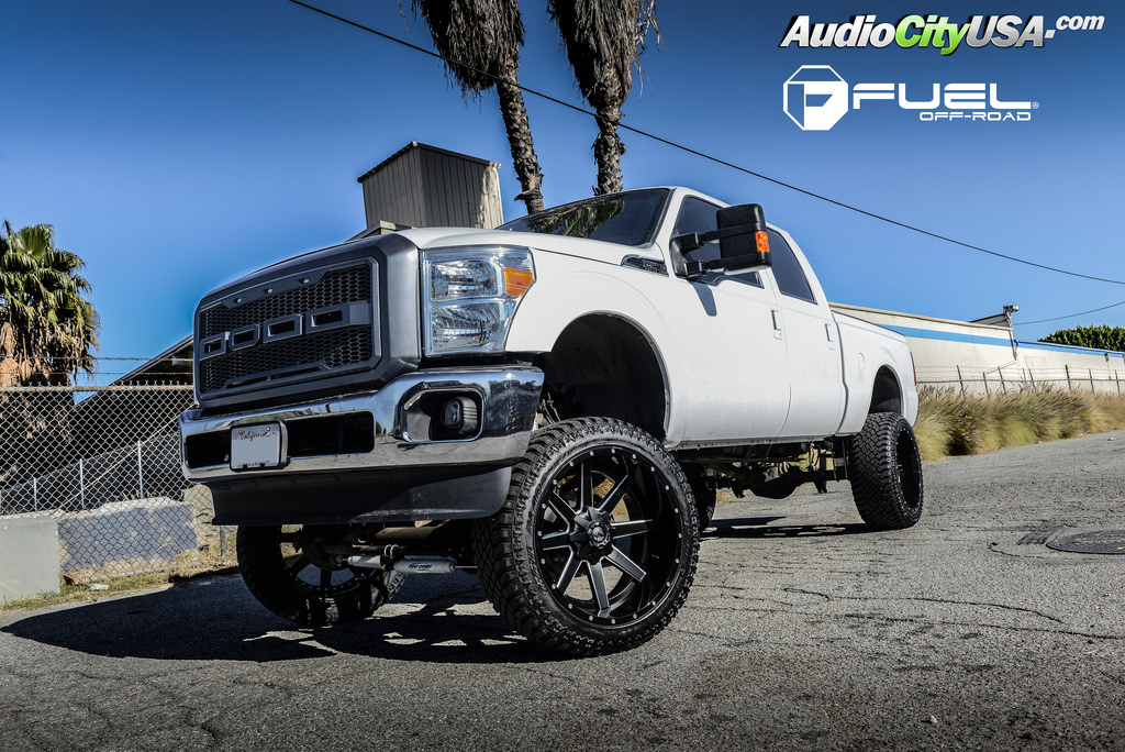 photo 3 Ford F-250 custom wheels Fuel D262 24x12.0, ET , tire size 325/45 R24. x ET