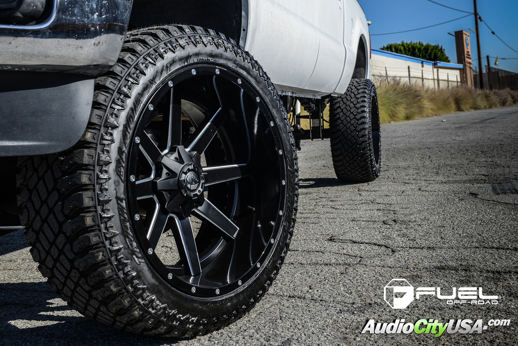 photo 1 Ford F-250 custom wheels Fuel D262 24x12.0, ET , tire size 325/45 R24. x ET