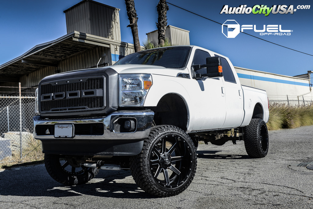 photo 4 Ford F-250 custom wheels Fuel D262 24x12.0, ET , tire size 325/45 R24. x ET