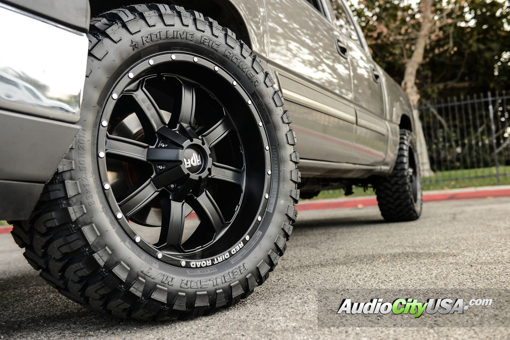 photo 1 Chevrolet Silverado 1500 custom wheels RDR RD01 20x9.0, ET , tire size 315/50 R20. x ET