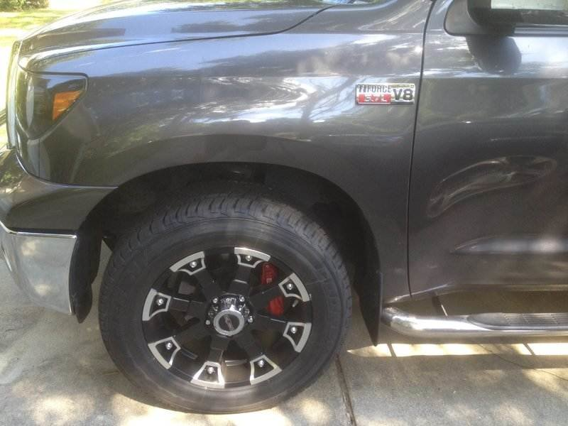 photo 1 Toyota Tundra custom wheels  Vision  20x, ET , tire size 275/60 R20. x ET