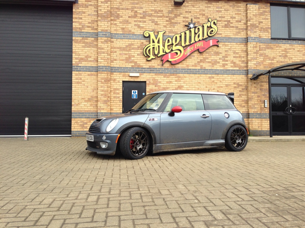 Photo 1 Mini Cooper S Custom Wheels Rota Blitz 17x7 5