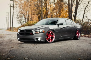 Dodge Charger tire size