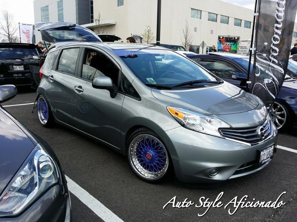Nissan Versa Note Custom Wheels Bbs Rc90 17x8 0 Et 20