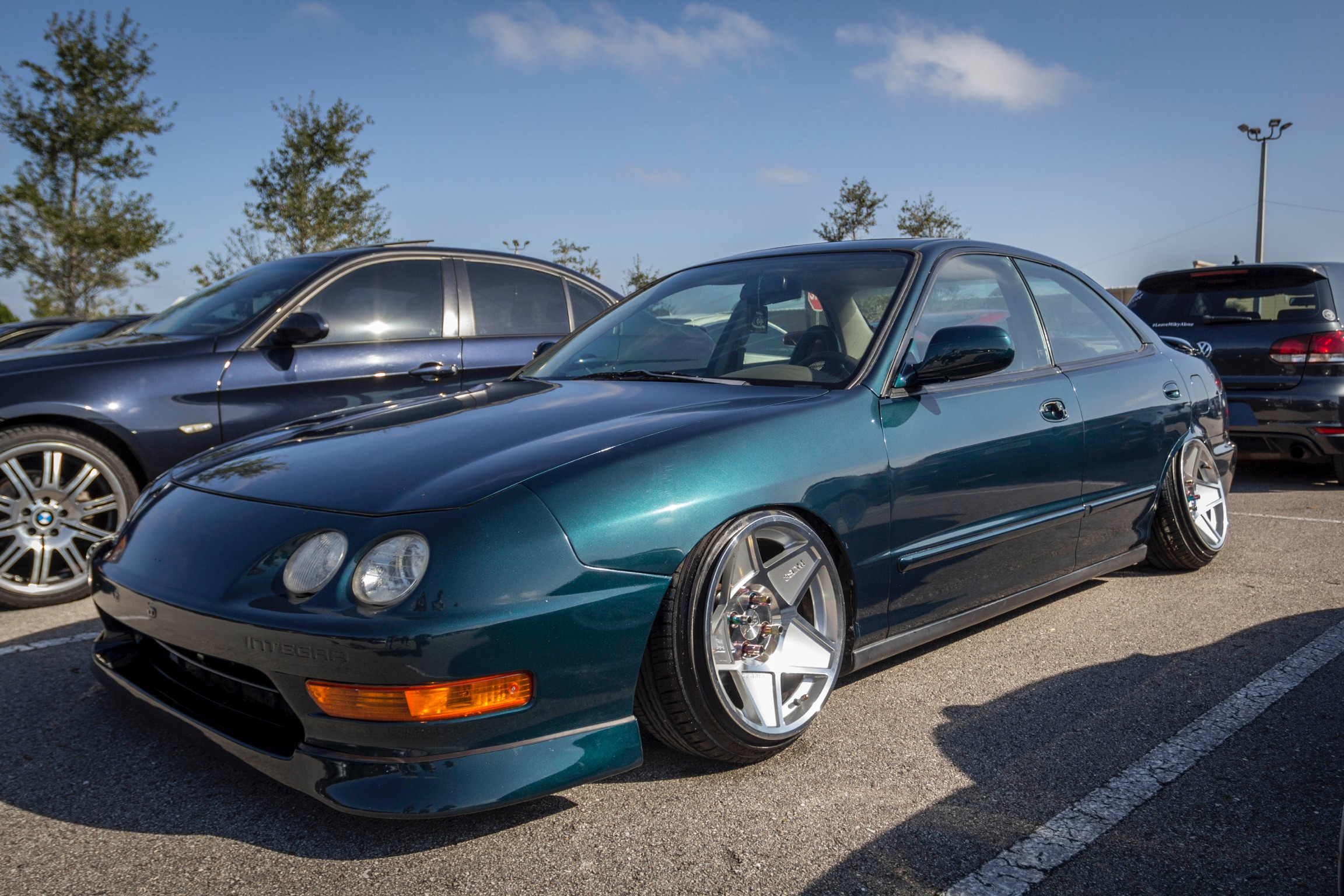 Acura Integra Custom Wheels Sdm X ET Tire Size - Acura integra tire size