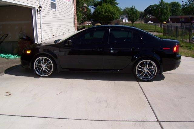 Acura TL Custom Wheels Helo X ET Tire Size R X ET - 2006 acura tl wheels