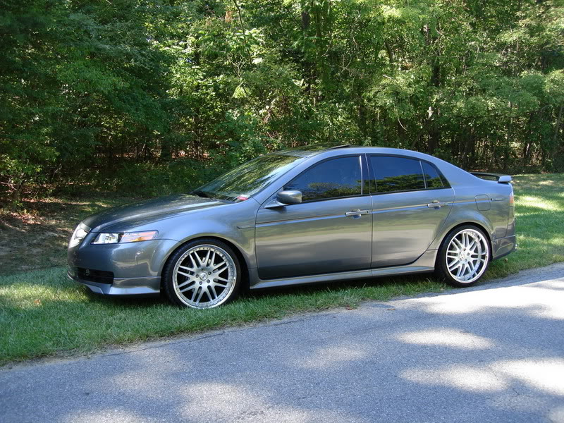 Acura TL Custom Wheels Sevas S X ET Tire Size - 2006 acura tl wheels