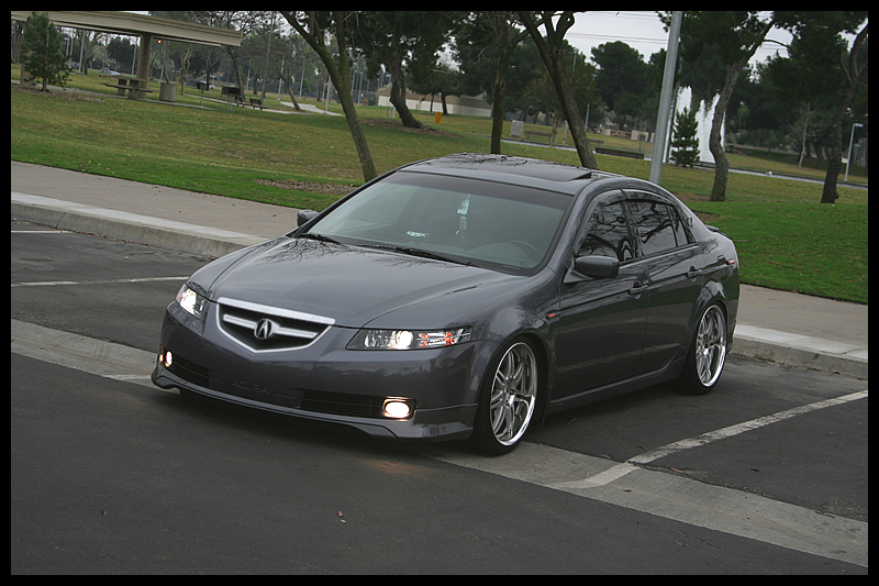 Acura TL Custom Wheels Work Varianza Ts X ET Tire Size - Acura tl aftermarket headlights