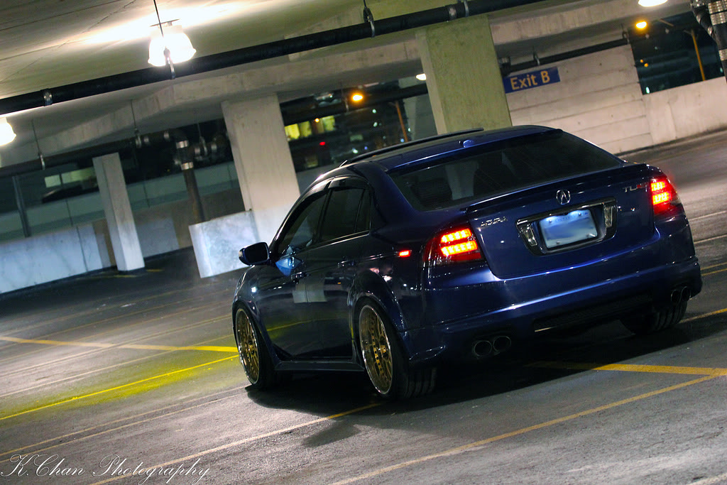 Acura TL Custom Wheels Work VSXX X ET Tire Size - Acura tl bc coilovers