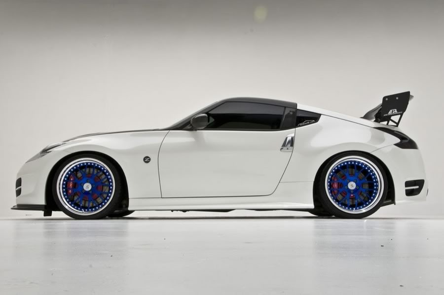 Nissan 370z Custom Wheels Strasse Forged Sm8 20x10 0 Et 15 Tire Size 255 R20 20x12 0 Et0