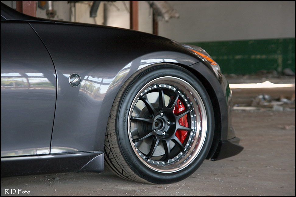 nissan 370z custom wheels ssr sp3 19x10 0 et 31 tire. Black Bedroom Furniture Sets. Home Design Ideas