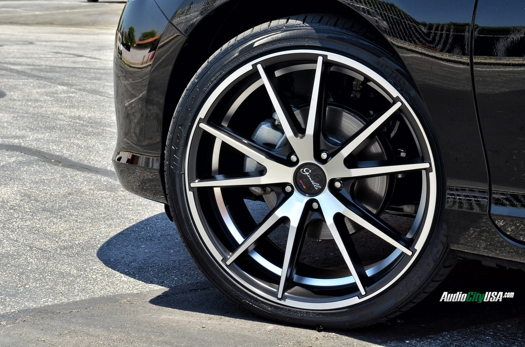 photo 1 Honda Accord custom wheels Gianelle Davalu Black 20x8.5, ET , tire size 245/35 R20. x ET