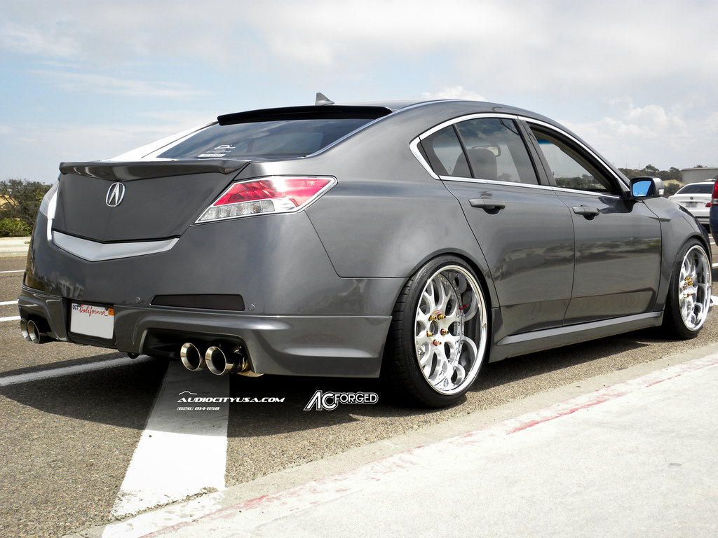 Acura Tl Custom Wheels Ac Forged 818 20x10 5 Et Tire Size 245 35 R20 X Et
