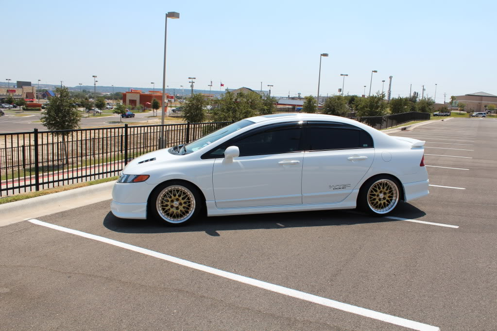 Honda Civic Custom Wheels Volk Gt U 17x8 0 Et 35 Tire