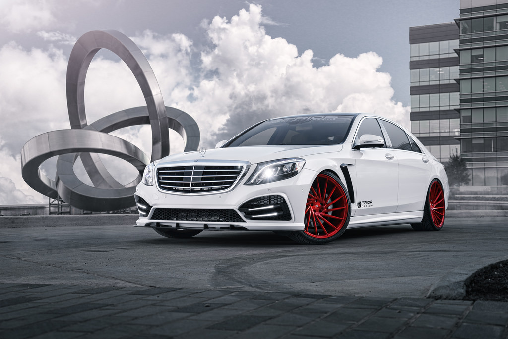 Mercedes benz s class custom wheels vossen vps 304 22x9 5 for Mercedes benz tire sizes