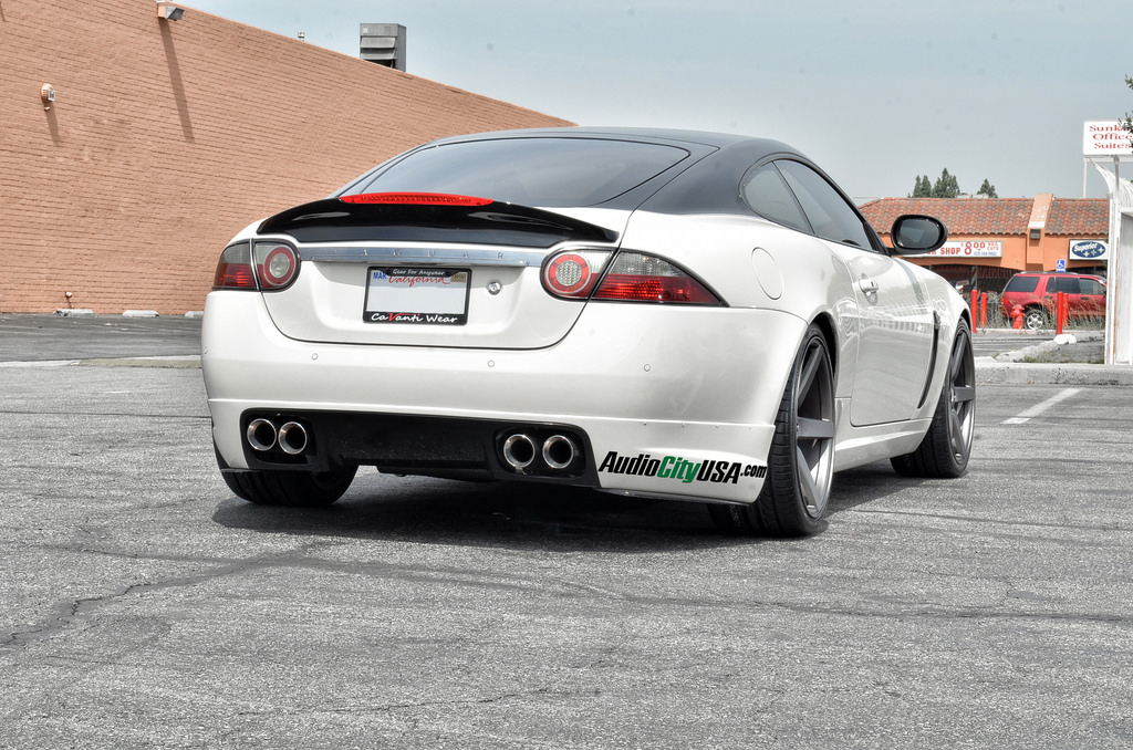 photo 3 Jaguar XK custom wheels STR 607 20x9.0, ET , tire size 255/30 R20. 20x10.5 ET 285/30 R20