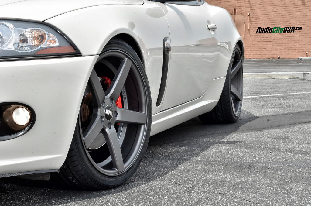 photo 1 Jaguar XK custom wheels STR 607 20x9.0, ET , tire size 255/30 R20. 20x10.5 ET 285/30 R20