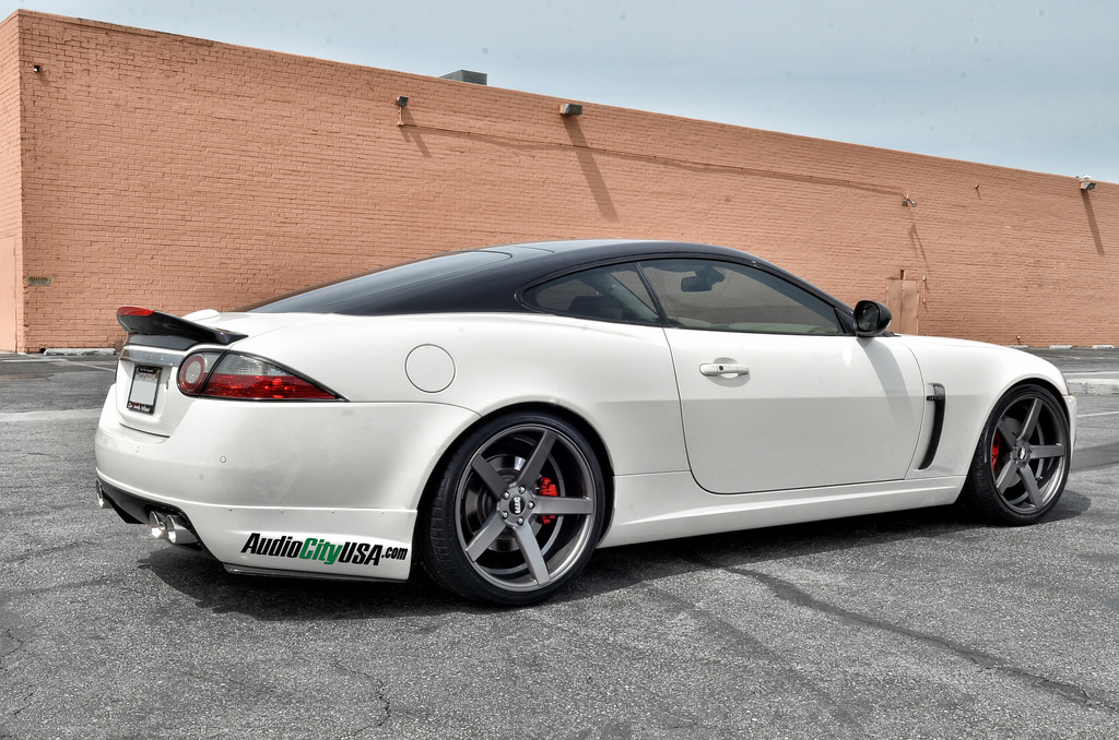 photo 5 Jaguar XK custom wheels STR 607 20x9.0, ET , tire size 255/30 R20. 20x10.5 ET 285/30 R20