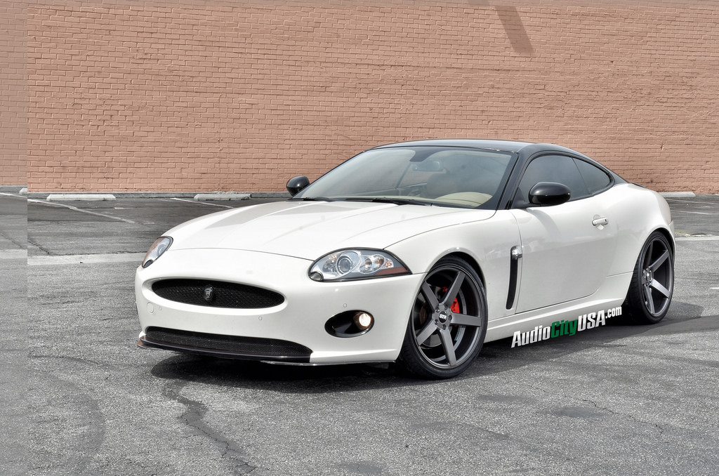 photo 6 Jaguar XK custom wheels STR 607 20x9.0, ET , tire size 255/30 R20. 20x10.5 ET 285/30 R20