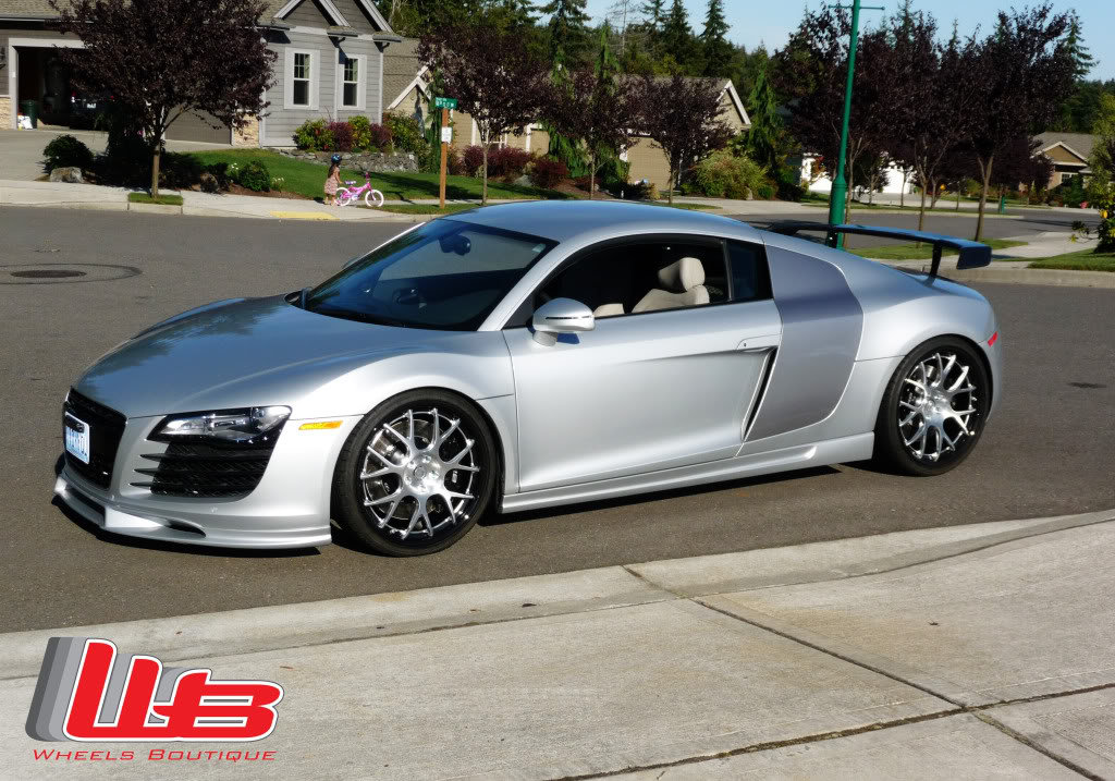 Audi R8 Custom Wheels Hre Cf40 20x9 0 Et Tire Size 245