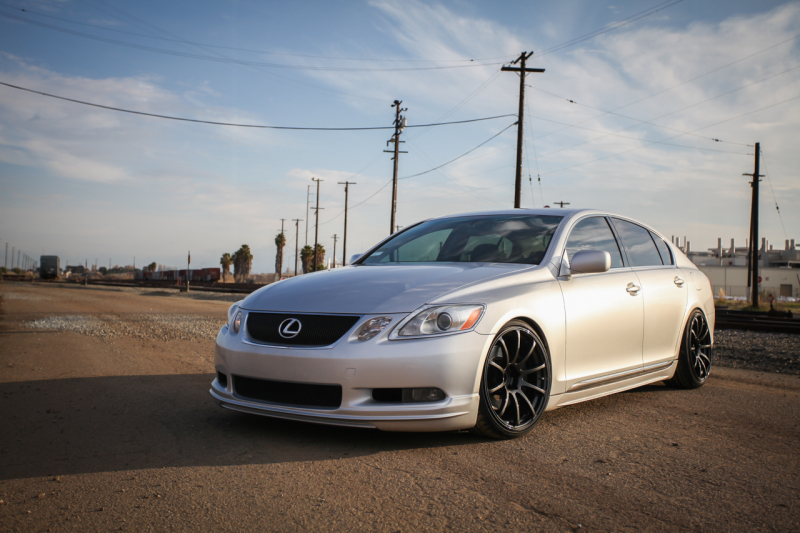 lexus gs 300 custom wheels advan rs 19x9 0 et 22 tire. Black Bedroom Furniture Sets. Home Design Ideas