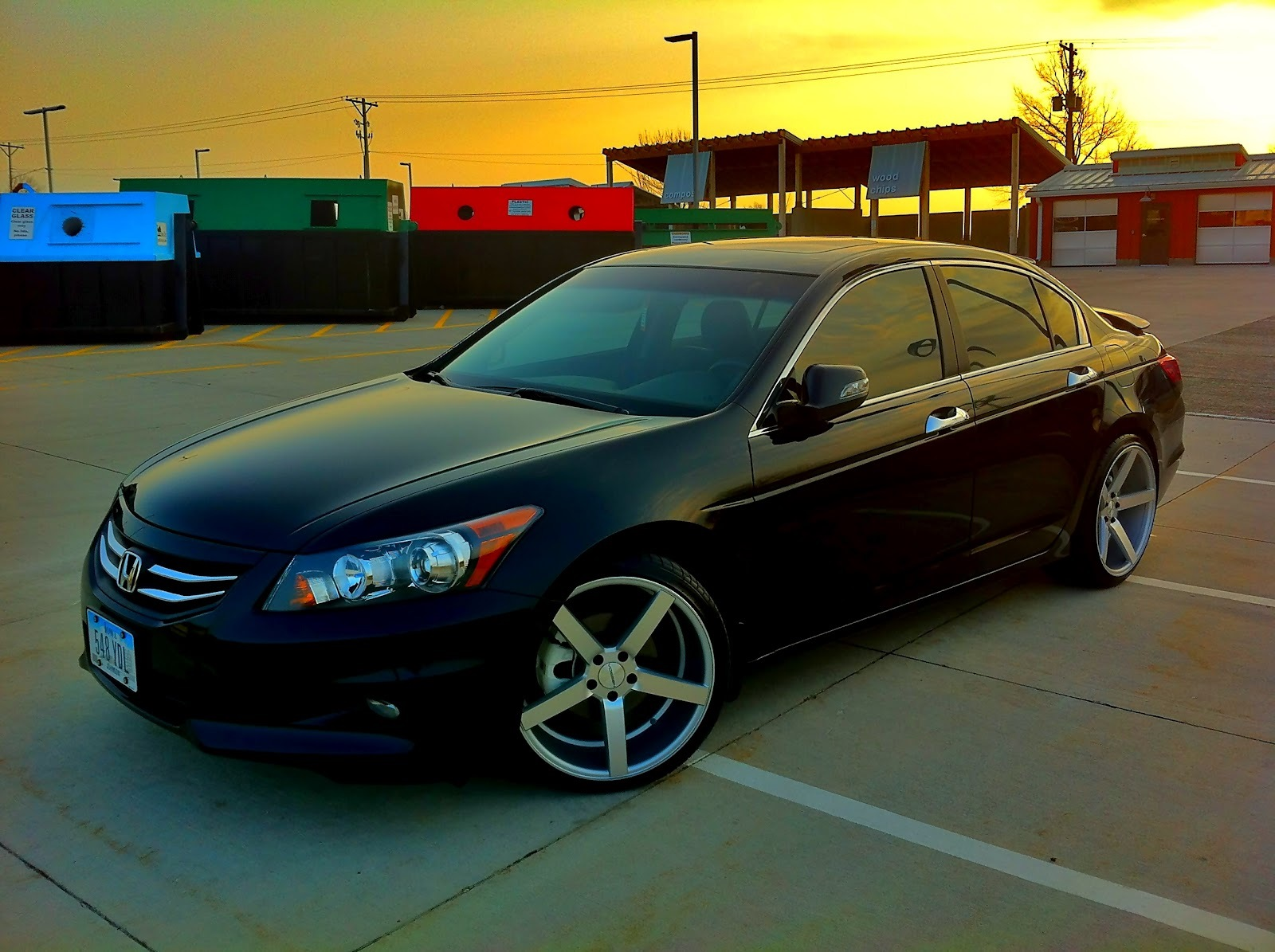 Honda Accord Custom Wheels Vossen Cv3 Conti 20x Et Tire