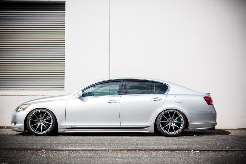 lexus gs 350 custom wheels volk racing g25 19x9 5 et tire size r19 19x10 5 et. Black Bedroom Furniture Sets. Home Design Ideas