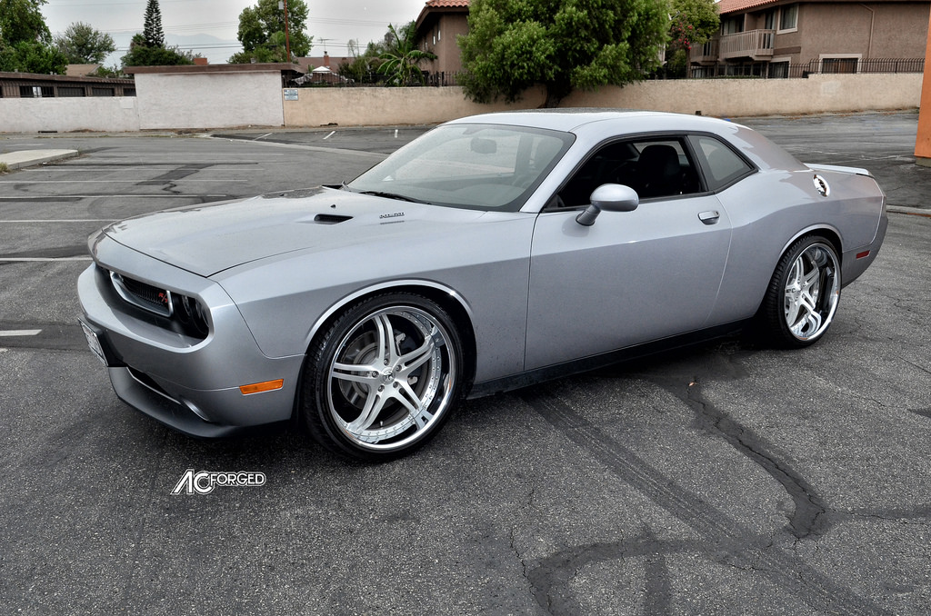 photo 2 Dodge Challenger custom wheels AC Split 5 22x9.0, ET , tire size 265/35 R22. 22x11.0 ET 295/30 R22