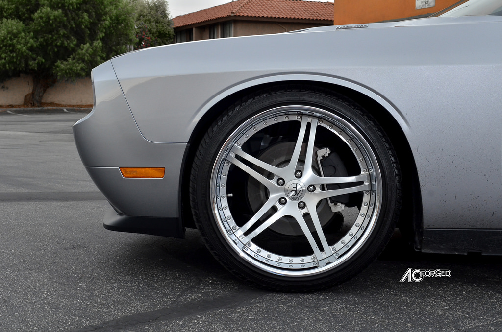photo 3 Dodge Challenger custom wheels AC Split 5 22x9.0, ET , tire size 265/35 R22. 22x11.0 ET 295/30 R22