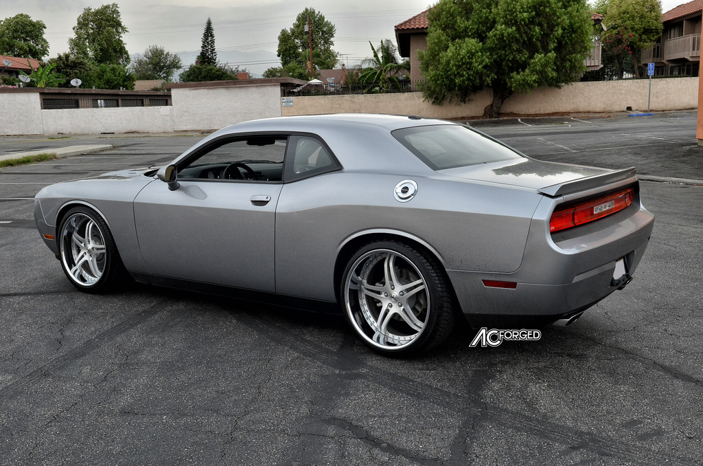 photo 4 Dodge Challenger custom wheels AC Split 5 22x9.0, ET , tire size 265/35 R22. 22x11.0 ET 295/30 R22