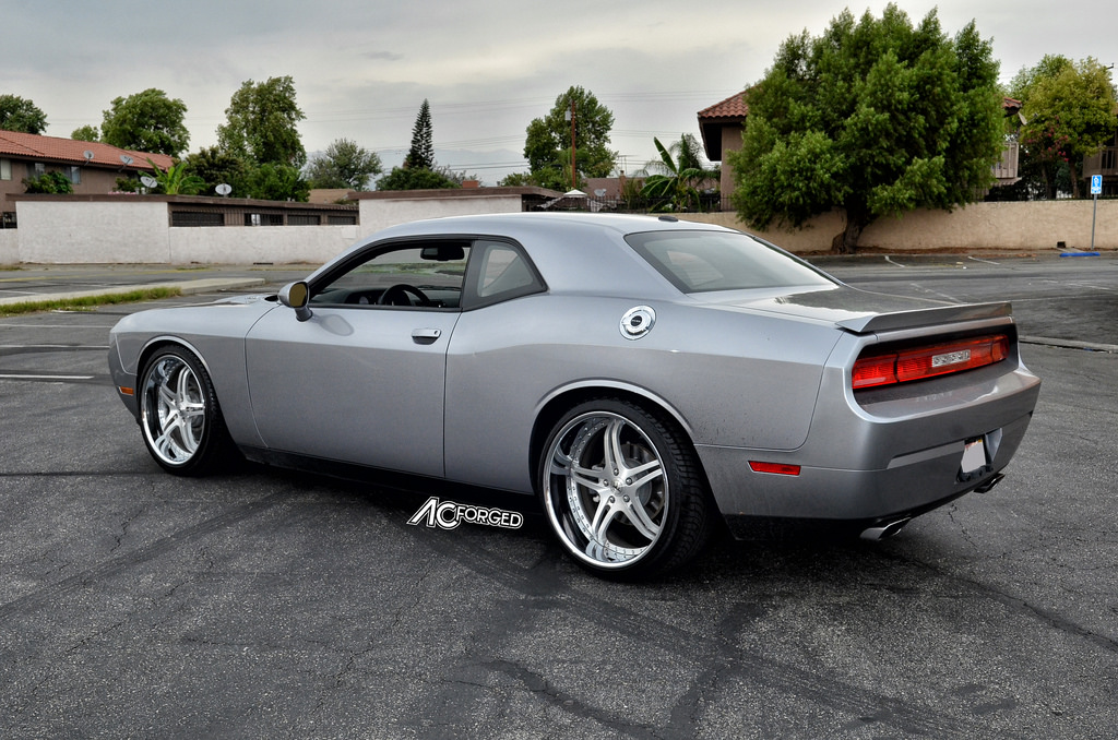 photo 5 Dodge Challenger custom wheels AC Split 5 22x9.0, ET , tire size 265/35 R22. 22x11.0 ET 295/30 R22
