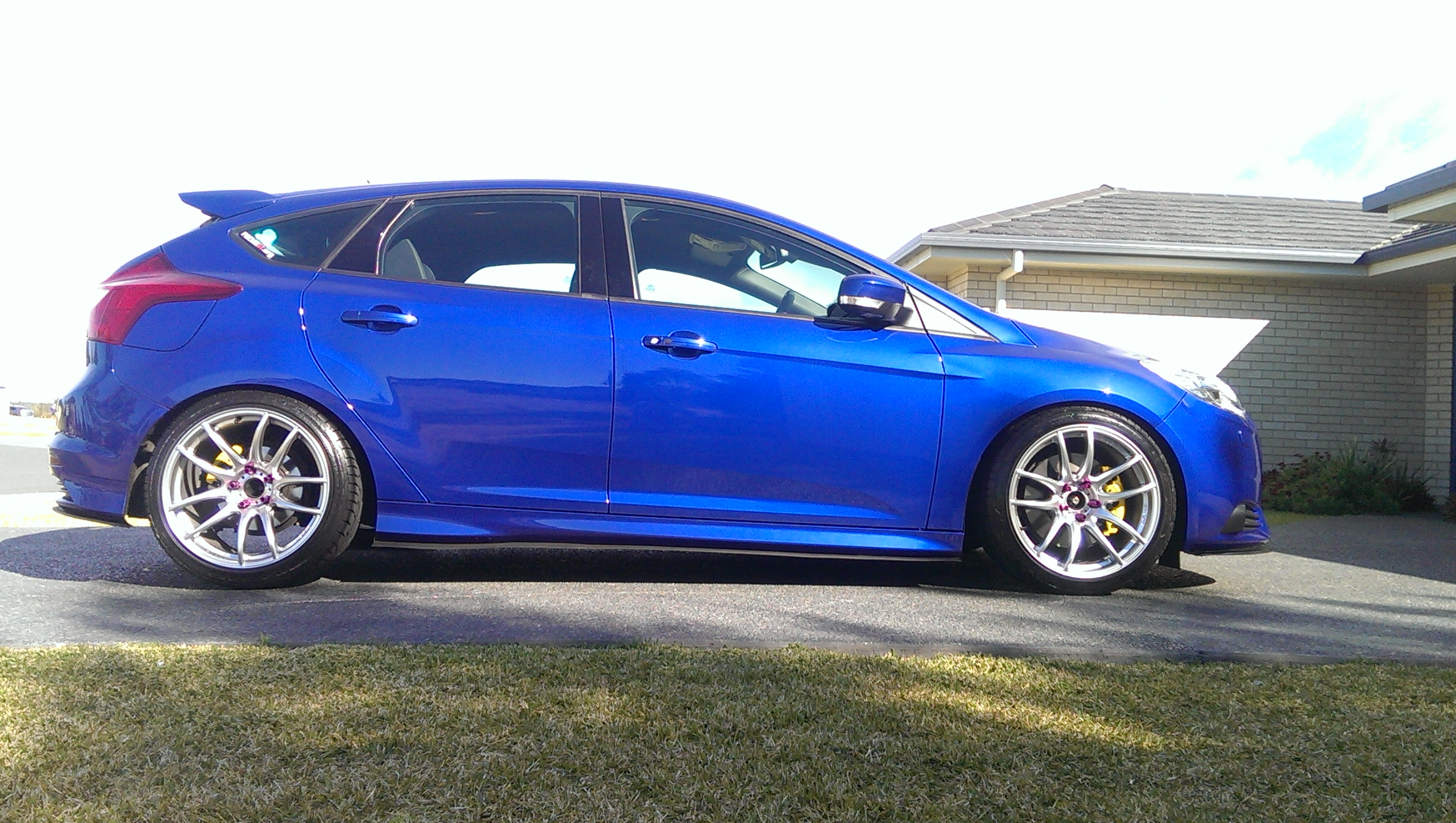 Ford Focus St Custom Wheels Lenso Project D 18x9 5 Et 40