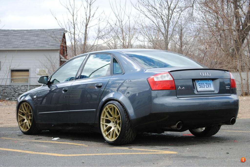 Audi A4 Custom Wheels Xxr 530 18x8 75 Et 33 Tire Size