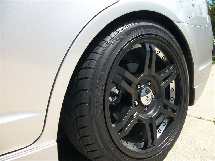 ford fusion custom wheels g-fx or7 18x8.5, et , tire size / r18. x et