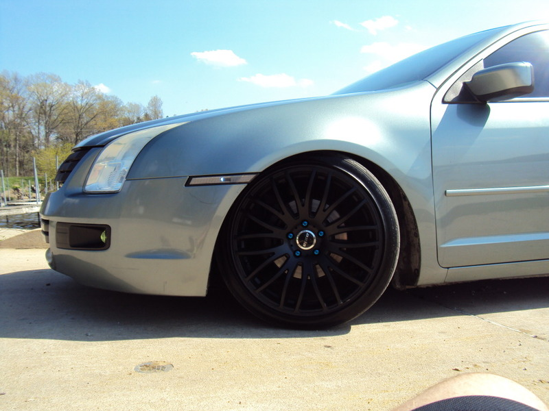 ford fusion custom wheels axis power 19x9.5, et +40, tire size 245