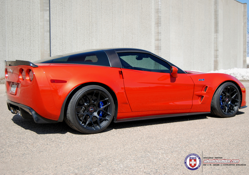 chevrolet corvette custom wheels hre p40sc 19x10 5 et. Black Bedroom Furniture Sets. Home Design Ideas