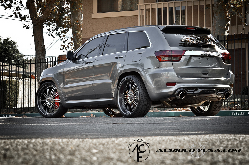 Jeep Grand Cherokee custom wheels AC Forged 24x9.0, ET ...