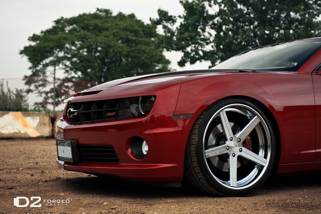 Chevrolet Camaro Custom Wheels D2forged Cv2 Xtreme 22x9 5