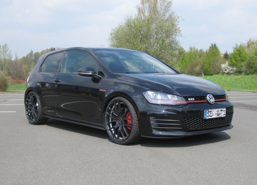 2017 Volkswagen Golf Gti Aftermarket Wheels