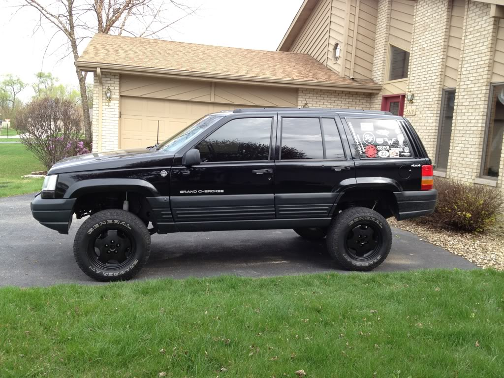 1999 jeep cherokee tire size