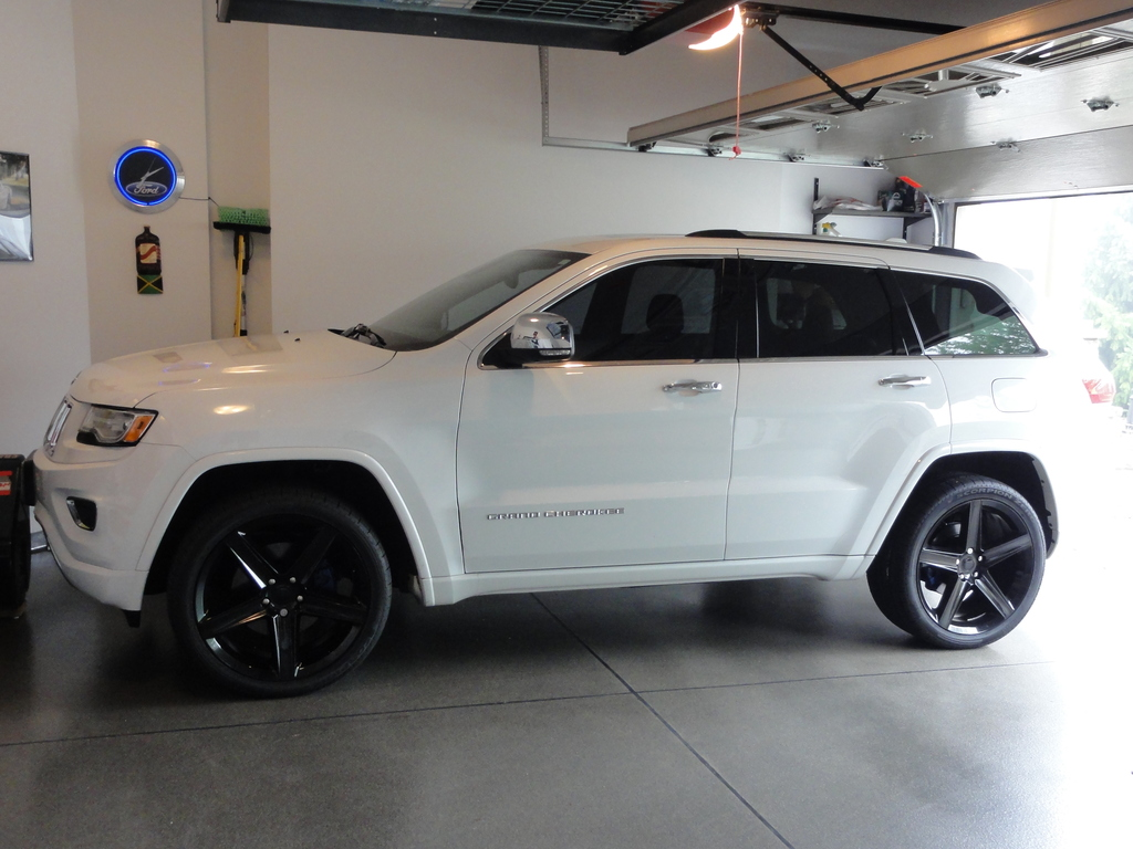jeep grand cherokee custom wheels fr 22x10.0, et , tire size 305