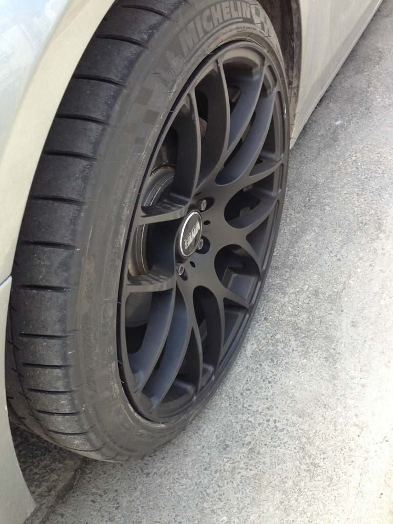 Audi A4 custom wheels VMR V710 19x9.5, ET +45, tire size ...