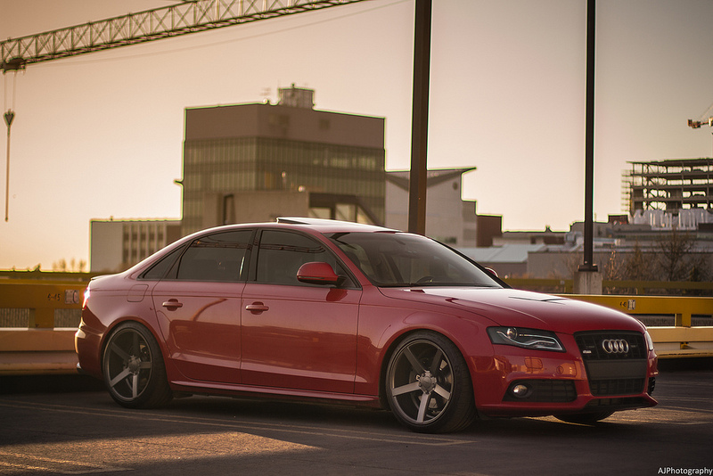 Audi A4 Custom Wheels Vossen Cv3 19x10 0 Et 40 Tire